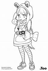 Copic Line Misa Arts Official Howto Jp sketch template