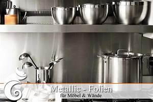 Klebefolie Für Fliesen : metall folie metalltapete in langlebiger qualit t g nstig kaufen ifoha ~ Frokenaadalensverden.com Haus und Dekorationen