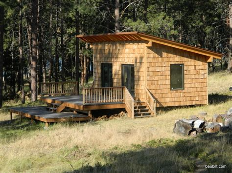 small lake cabin plans small cabin plans  shed roof bunkhouse cabin plans treesranchcom