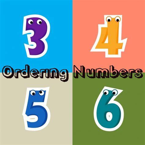 ordering numberscounting worksheets