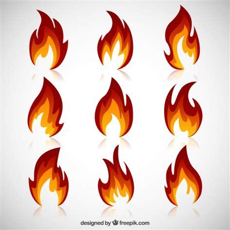 Fireplace Der Clip - vielzahl feuer flammen der kostenlosen vektor