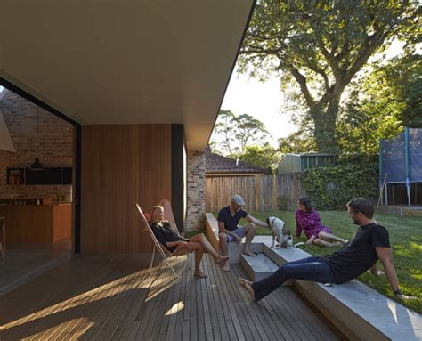 Dachluke Haus by Skylight House Light And Seamless Connection To