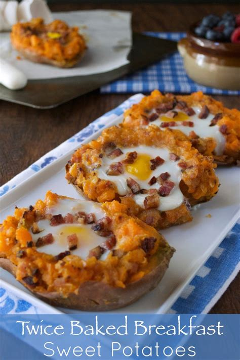 baked breakfast paleo twice baked breakfast sweet potatoes plaid paleo
