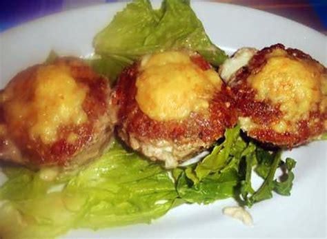recette de petits pates de viande hachee et mozzarella di buffala