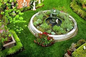 Jardin Deco Exterieur : d coration jardin exterieur fontaine ~ Teatrodelosmanantiales.com Idées de Décoration