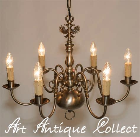 plafonnier lustre le lustre antique argent couleurs 6 fl tep adler ebay