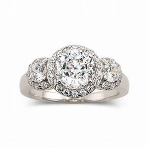 cubic zirconia engagement rings watches and engagement on With jcpenney jewelry wedding rings