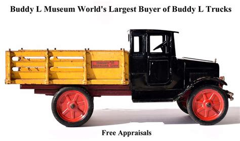 buddy l trucks free appraisals information buy trade sell