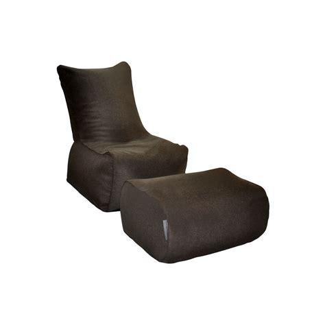 zen bean bag chair brown