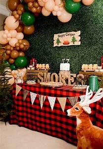 Kara, U0026, 39, S, Party, Ideas, U0026quot, Happy, Camper, U0026quot, Rustic, Camping, Birthday, Party