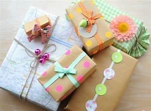 Geschenk Verpacken Schleife : geschenke verpacken 70 fantastische ideen ~ Orissabook.com Haus und Dekorationen