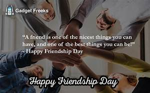 Inspirational H... Friendship Day Good Quotes