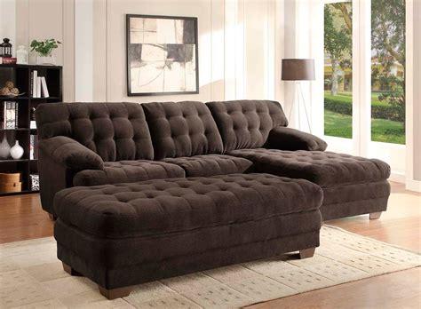 dark brown sectional sofa dark brown bonded leather sectional sofa he739b leather