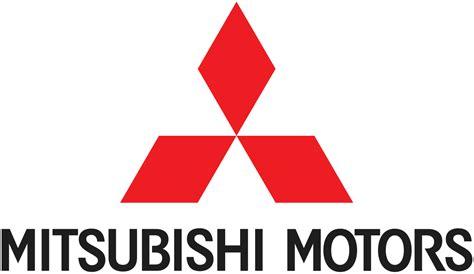 mitsubishi logo white png origin of mitsubishi motors