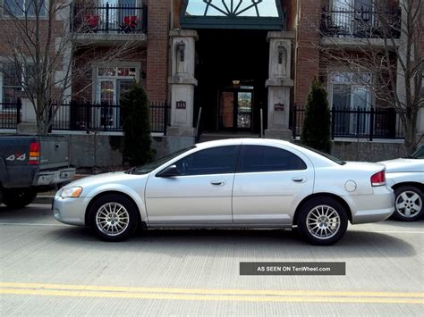 how to learn everything about cars 2005 chrysler crossfire electronic valve timing chrysler sebring 2 7 2005 auto images and specification