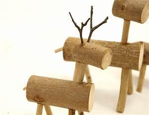 Weihnachtsdeko Selber Machen Holz : elche oder rehe aus holz als adventsdeko zum selbermachen recyclingkunst und der versuch ~ Frokenaadalensverden.com Haus und Dekorationen