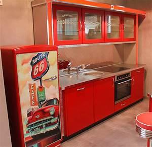 Style Der 50er : american diner k che home design ideen ~ Sanjose-hotels-ca.com Haus und Dekorationen