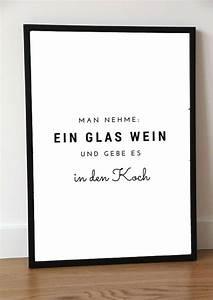 Poster Für Küche : typo poster f r k che und weinliebhaber artprint for the ~ Watch28wear.com Haus und Dekorationen