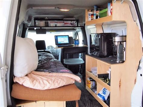 Many Photos Of Converting A Van To Camper (some With A