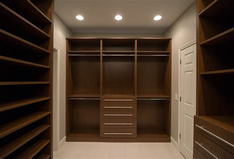 lz master suite his and hers walk in closet modern