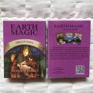 Magic Oracle Cards Earth Magic Read Fate Tarot 48