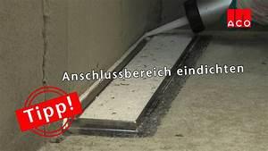 Bodengleiche Dusche Fliesen Anleitung : bodengleiche duschen einbau einer aco showerdrain ~ Michelbontemps.com Haus und Dekorationen