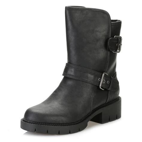 cheap black biker boots rocket dog womens black glenn biker boots glenn tower london