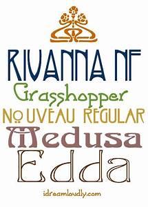 Free Art Nouveau Fonts | Fonts | Pinterest | Fonts, Art ...