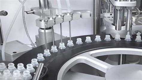 eye drops filling capping machine   plugger small glass bottles fuellung