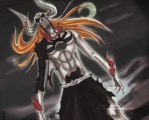 Ichigo Full Hollow form by matt-jackal on DeviantArt