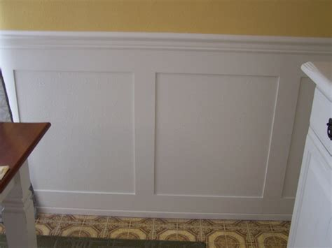 Faux Wainscoting by Faux Wainscoting Big Decor