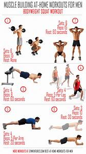 At Home Workouts for Men - 10 Muscle Building Workouts