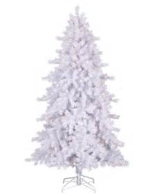 moonlight white tinsel artificial tree treetopia