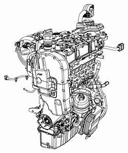2017 Jeep Renegade Engine  Complete   Engine Block Heater