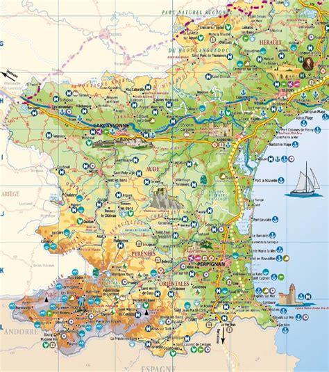 cuisines montpellier languedoc roussillon cartes touristiques du languedoc roussillon