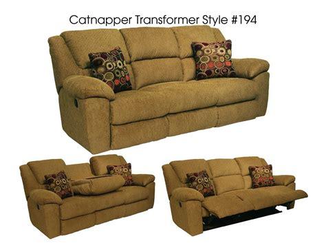 catnapper transformer triple reclining sofa catnapper transformer ultimate sofa with 3 recliners 1