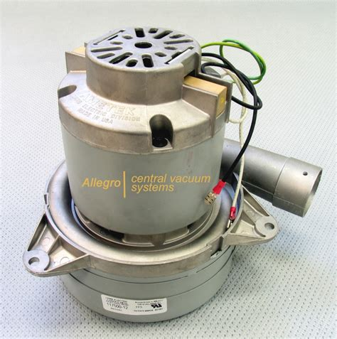 Replacement Electric Motors by Ametek Central Vacuum Replacement Blower Electric