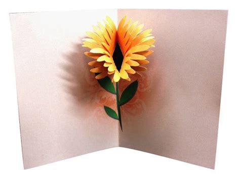 flower birthday pop  card   beautiful flower