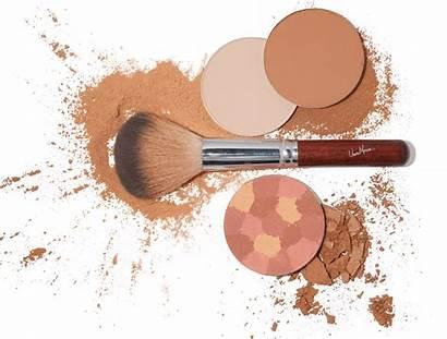 Makeup Powder Clipart Face Transparent Eye Closed
