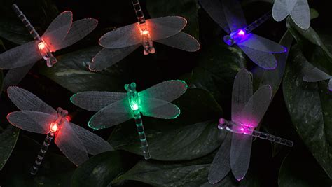 fiber optic christmas lights holiday decor gardeners
