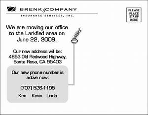 business moving postcards best business cards With business change of address postcards