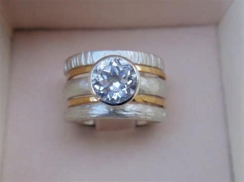 Engagement Ring Wedding Ring Set Of 5 Stacking Rings 14k