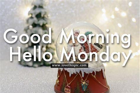 santa snow globe good morning  monday pictures