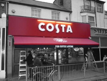 commercial shop front awnings london shades awnings