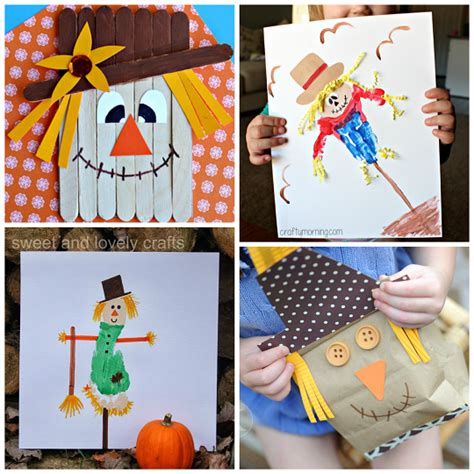 Scarecrow Crafts For Kids To Make This Fall  Crafty Morning