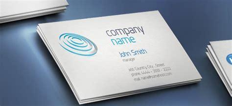 creative business card  company   psd file