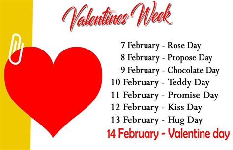 Happy Valentine Week 2018, Check All Valentines Weeks Name List Of All Days  Happy Valentine