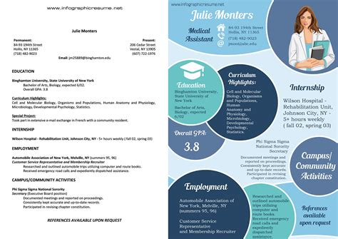 20419 infographic resume template infographic resume sles infographicresumesles