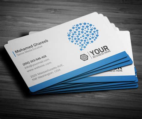 creative social media business card  behance