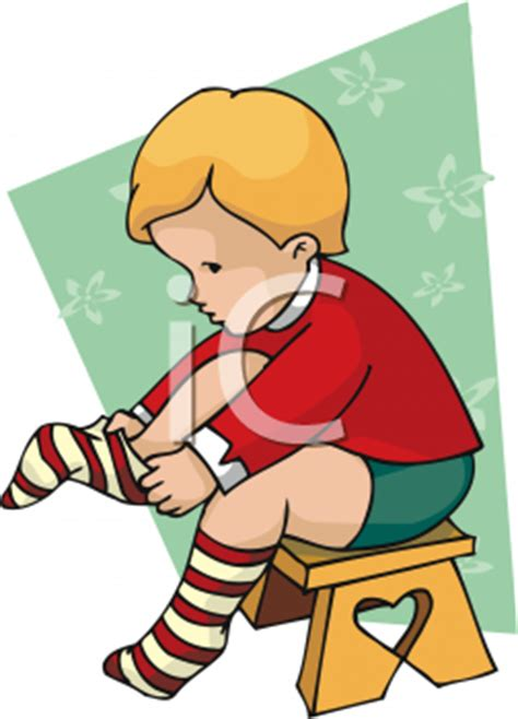 boy putting on shoes clipart dress the boy clipart cliparthut free clipart